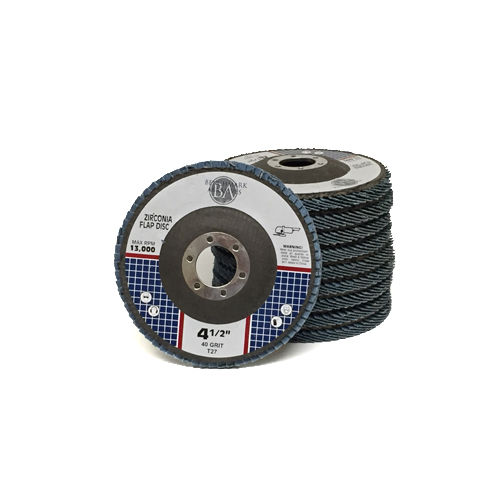 "10 Pack 4.5"" x 7//8/"" Professional 40 Grit Zirconia Flap Disc Grinding Wheels T27"
